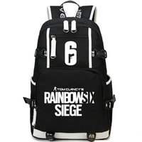 Wholesale Pack Women Game - Rainbow six backpack Shoot play daypack Siege 6 schoolbag Game rucksack Sport school bag Outdoor day pack
