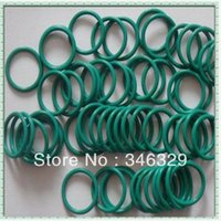 Wholesale Viton Rubber - free dhl shipping Hot sale high quality Flexible Accessory Green Viton O Ring ID3mm*CS2.0mm 1000pcs
