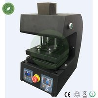 Wholesale Hot selling reach to ton pressure PURE ELECTRIC Auto dual heat plates rosin heat press machine with LCD panel electrical rosin press