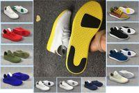 Wholesale Human 3d - 2017 New Arrival stan smith Pharrell Williams Tennis HU 3D Primeknit Running Shoes Fashion Women Men PW Human Race NMD Sneakers Size 36-45