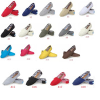 Wholesale slip sneakers wholesaler - HOT Size Brand Fashion Women Solid sequins Flats Shoes Sneakers Women and Men Canvas Shoes loafers casual shoes Espadrilles
