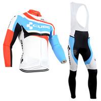 ingrosso maglia manica lunga bicicletta riflettente-Cube Cycling Jerseys / Cycle Abbigliamento Quick-Dry Black Race Abbigliamento bici / MTB Bike Sportswear For Man