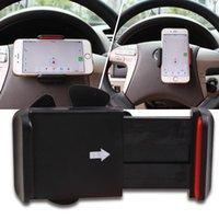 Wholesale Wheel Seller - Wholesale- Best Seller 2015 Bike Car Steering Wheel Cell Phone Holder Extendable GPS Mount Clip 55-90mm