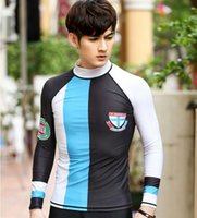 Wholesale Dive Sub - free shipping 2017 new diving suits men's outdoor sports long-sleeved sunscreen multi-functional sub-diving suit wild swimsuit swimsuit