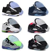 Wholesale metallic blue high boots resale online - 2016 Cheap High Quality air mens Basketball Shoes metallic Silver Grape Laney Green Bean Mark Ballas bin space jam sport sneakers Boots