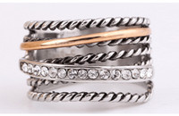 Wholesale Tungsten Jewelry China - NEW Limited Rushed Tension Setting Women Wholesale Fashion jewelry jewelry Fit Pandora 925 Sterling Retro Ring Ring