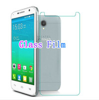 Wholesale Alcatel Idol Mini Screen Protector - Wholesale-High Quality 9H 2.5D Tempered Glass Clear Screen Protector Film for Alcatel One Touch Idol 2 Mini S 6036 6036Y