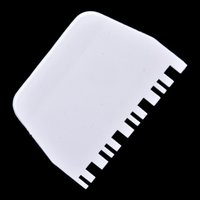 Wholesale Cake Scrapers Cake Square Dentate Scraper Decorating Cutter Smoother Smooth Kitchen Tool Cake Tool
