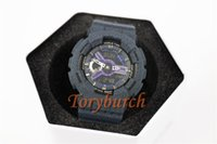 Wholesale Cowboy Watches - BABY #18 Dark blue cowboy AAA top quality female wristwatch G watch all functions Sports watch dropshipping