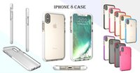 Wholesale Iphone Cases Wholesale Store - For iPhone x the following transparent iPhone8 phone case without grip waterproof seal soft shell high penetration 5 colors on store