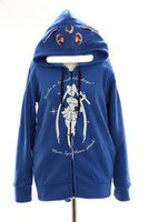 Wholesale sailor moon cosplay online - Kukucos Anime Sailor Moon Luna Lovly Blue Cosplay Hoodie Sweatshirt Jacket Pullover