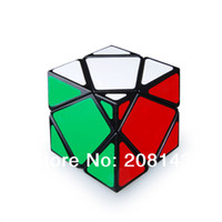 Wholesale Black Stone Cube - Lanlan Magic Cube Big Stone 4-Axis Skewb Magic Cube Black Educational Twisty Speed Puzzle Children Toy cubo magico