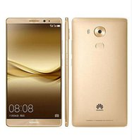 Wholesale hd water camera - Original Huawei Mate 8 4G LTE Mobile Phone Kirin 950 Octa Core 4G RAM 64G 128G ROM 6.0 inch HD Android 6.0 16.0MP Fingerprint ID Smart Phone