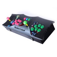 Wholesale Vga Parts - 645 in 1 TV Jamma Arcade Game Console with Pandora's Box 4 Games Kit with Joystick Button Parts Accessories HDMI and VGA