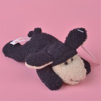 black sheep farm - 5 New cm Black Lambie Sheep Stuffed Animals Plush Fridge Magnet Toys Learning Teaching Home Decoration