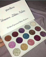 Wholesale Wholesale Glitter Items - 2017 Makeup Eye Shadow NEW arrival Glamierre Unicorn Glitter Eyeshadow Palette 15 Colors eye shadow hot item