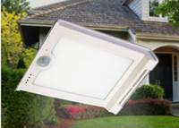 freies solar-flutlicht großhandel-Großhandel 46 LED Solar-Scheinwerfer Außenwandleuchten Gartenbeleuchtung LED-Flutsicherheits Garten Projizieren Landschaft Rasen-Licht-freies Verschiffen