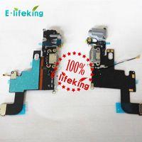 conector do carregador para o iphone venda por atacado-Dock connector carregador para iphone 6 6 plus 6 s 6 s além de carregamento porta flex cable ribbon substituição com frete grátis