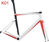 Wholesale Bicycle Complete Carbon Road - many color can be choice SL6 carbon fiber road bicycle frame T1000 UD carbon bike frame road complete bike bicicleta frame 49 52 54 56 58cm