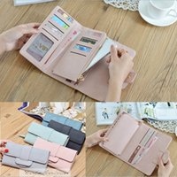 Wholesale Iphone Blue Coin Case - Luxury Women Leather Wallet Case for iphone 7 plus 6s 8 Samsung S8 Female Magic Coin Purse Wallets Card Holder Wristlet Money Bag