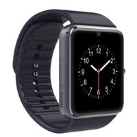 Wholesale Cheapest Smart Watches - Cheapest 100pcs GT08 Bluetooth Smart Watch with SIM Card Slot Camera For IOS Android Smartphone with retail Box
