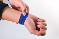 Wholesale seful Travel Car Sea Van Plane Wrist Bands Anti Nausea Car Sea Sick Sickness