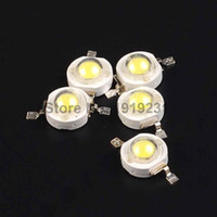 Vente en gros- 30PCS Epistar Chip 3W LED Bulb Diodes Perles de lampe 240lm-300lm.For 3W LED Spot Light