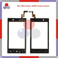 Wholesale Micromax Screen Glass - Wholesale- High Quality Touch For Micromax A093 Screen Digitizer Sensor Front Glass Lens panel Free shipping