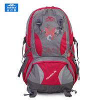 Wholesale Topsky Outdoor - Wholesale- Topsky 40L outdoor sport bag Hiking BackPack waterproof anti-tear camping sports bag Men women bags running bag