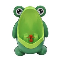 potty training boys peeing 2018 - Green Blue Frog Baby Toilet Training Children Potty Urinal Pee Trainer Urine For Boys with Funny Aiming Target Bath DEC284