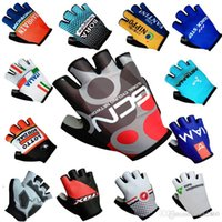 Wholesale Glove Bicycling - 2017 Tour de France quick step bora fox iam gcn lottl astana data italia Cycling Gloves racing MTB TEAM Bike bicycles gloves with Gel pads