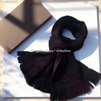 Wholesale Red Wool Pashmina - Promotional discount wholesale scarf shawl wrap scarves women lady famous luxury brand designer original paper handbag L-150