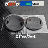 Wholesale aluminum hoods - 82mm 74mm Blue White Original OEM Type Emblem Badge BONNET Hood Front Rear Trunk Logo for BMW E46 E39 E38 E90 E60 Z3 Z4 X3 X5 X6