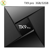 Wholesale Pandora Prices - TX9 pro best price wih high quality android tv box amlogic s912 3g 32g drop shipping android smart tv box 4k dual wifi streaming tv box