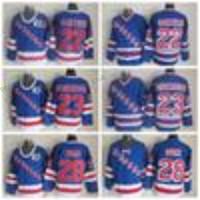 Wholesale Silk Neck Ties Xl - Throwback New York Rangers Hockey Jerseys 22 Mike Gartner 28 Tie Domi 23 Jeff Beukeboom Home Royal V Neck 91-92 75th Anniversary Blue Jersey