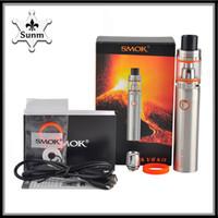 Wholesale New E Cigs - New Smok Stick V8 Kit 3000mAh TFV8 Big Baby Tank VAPE Pen Smoktech vapor mods e cigs vs jomo kit 0268037