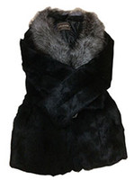 шубы из фарфора оптовых-Китай поставщик новой одежды кролика шуба женщин с длинным капюшоном пальто женщин модель 1013