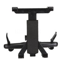"Wholesale Tablet Stands Holders - Wholesale- New Adjustable Car Seat Headrest Universal Holder Stand Mount Bracket Clip For ipad 8-14"" Backseat holder Tablet PC"