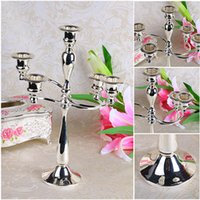 Wholesale Design Candles - 5 Arms Candelabras Holder Zinc Alloy Candle Holder Elegance And Luxury Style Design For Home Decoration  Wedding Gifts