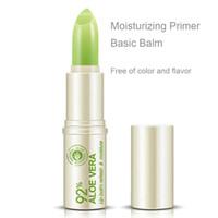 Wholesale Aloe Lip Balm - Rmakeup Waterproof Nutritious Lip Natural Aloe Lipstick Gloss Easy to Wear Beauty Makeup Long Lasting Lip Balm Maquiagem ML017