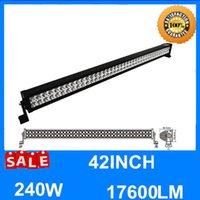 42 '' 240W LED Arbeitslicht Bar Spot Flood Combo Beam Roof Front Fahrlampe SUV Off-Road Boat Nebel Fahrlicht 40 44 Zoll 4WD