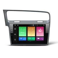 "Wholesale Dvr Dvd Car - 10.1"" Octa-core Android 6.0.1 System Car DVD Player For Volkswagen Golf 7 2013+ GPS Navi Stereo 2G RAM 32G ROM WIFI 4G OBD DVR 4K Video USB"