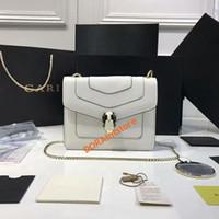 ingrosso tipi di gioielli-Borsa a tracolla di nuova moda donna primavera sfilata di moda stesso tipo gioielli borsa serie Serpenti borsa a tracolla in vera pelle