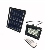 Wholesale remote light control system for sale - Group buy N510F N510K Remote Control LEDs SMD Solar LED Floodlight Energy Saving Outdoor Waterproof Garden Street Road Light Lamp System