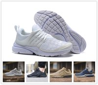 Wholesale Adult Ski Camps - 2017 Air Presto Se Woven Running Shoes Men Women brand adult High Quality sport run trainer sneaker US 5.5-12 Free drop shipping
