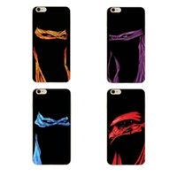 Wholesale Iphone Case Ninja - Cool Four-Color Ninja Warrior Clear Soft Silicone TPU Cell Phone Case for iphone X 8 7 6S Plus 5S 5C 4S Back Cover