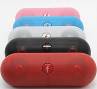 Wholesale Portable Box Speakers - 1PCS XL Bluetooth Speaker Pill XL with Retail Box Black white red blue Color hot selling speaker
