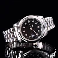 relógios de pulso venda por atacado-Relogio masculino mens relógios luxo dress designer de moda calendário dial preto pulseira de ouro de couro mestre relógio masculino 2017 presentes amantes