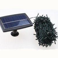 Wholesale 100 LED Solar Garden Light String LED Solar Power Garden Lamp Lights Patio Holiday Christmas Decoration Lighting
