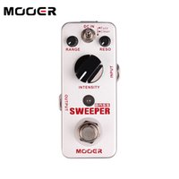 Wholesale unique bass - MOOER Sweeper Bass filter Pedal for Bass and Guitar Unique Funky style filter tone Guitar effect pedal